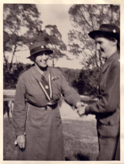 Margaret With                           Lady Baden Powell